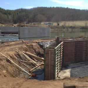 Building the New Bridge